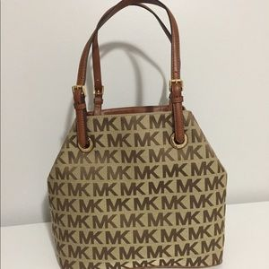 NWT Michael Kors Jet Set Grab Bag